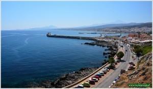 Rethymno - widok z fortecy