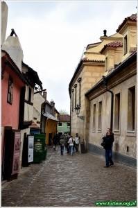 Praga, Hradczany, Złota uliczka