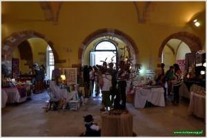 Galeria w zabytkowej architekturze Chanii