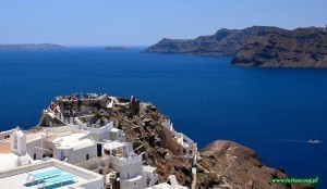 Santorini - punkt widokowy