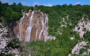 Plitvicka Jezera, Plitwickie jeziora, Wielki wodospad