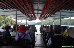 Plitvicka Jezera, Plitwickie jeziora, Przeprawa przez jezioro Kozjak