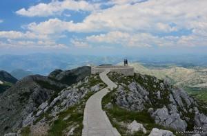 Widok na Czarnogórę z Jezierskiego Vrhu