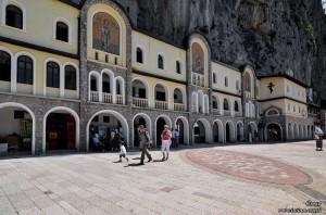 Plac przed monastyrem Ostrog