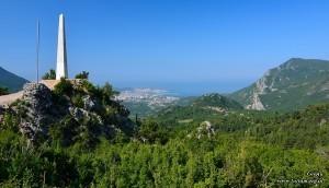 Widok z górskiej drogi do Virpazar