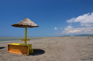 Plaża na Ada Bojana