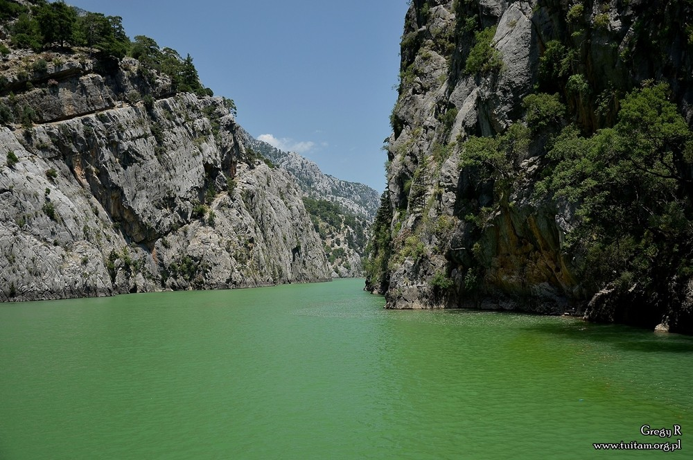 Turcja Zielony kanion, green canyon