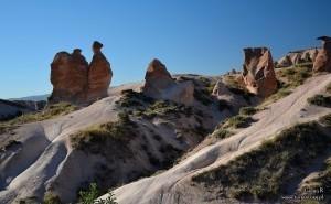 Kapadocja - skalny wielbłąd