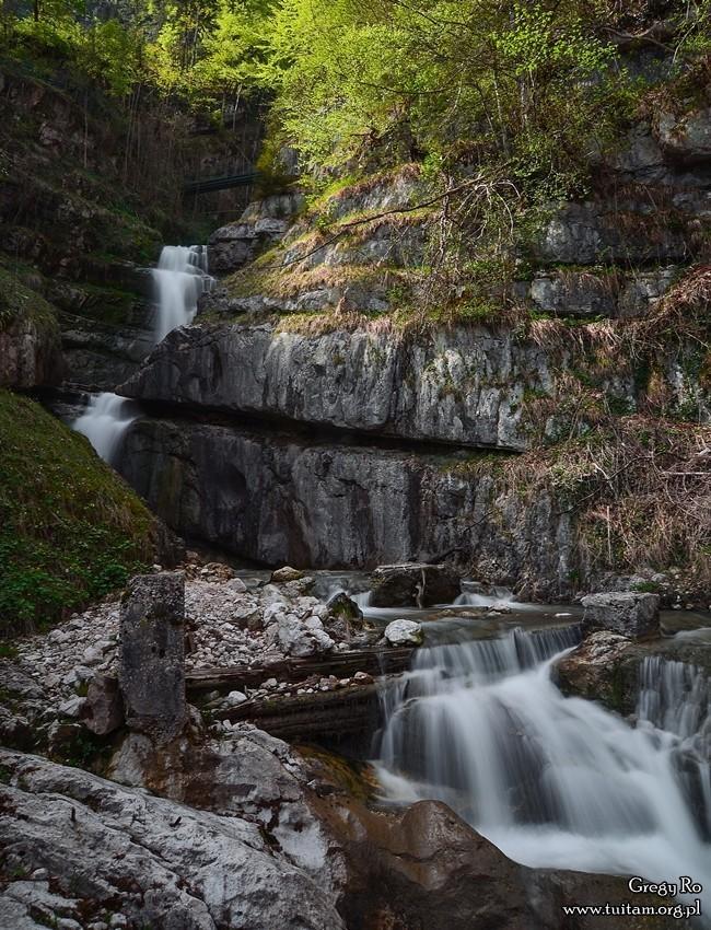 Hallstatt - wodospad