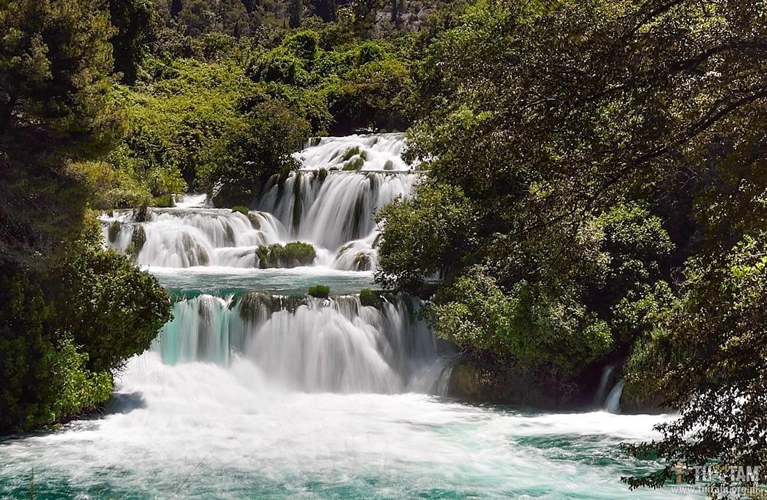Krka, wodospady, Krka - raj wodospadów