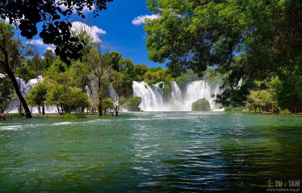 Kravica, Krawica, wodospady Krawica