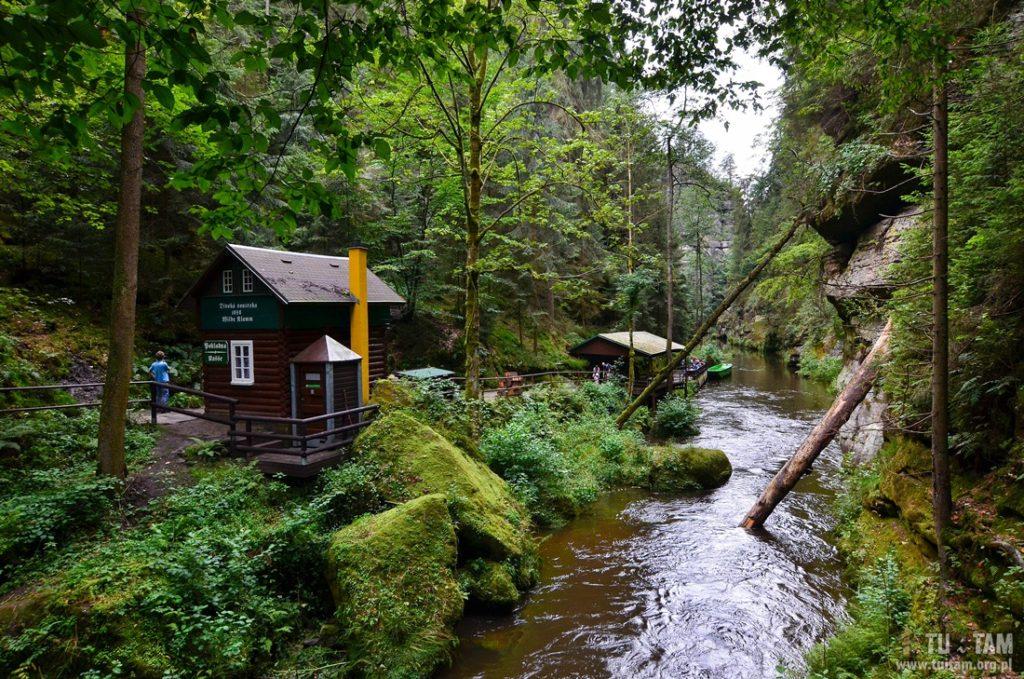 Wąwóz Dziki, Czeska Szwajcaria